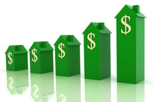 House real estate price mortgage concept